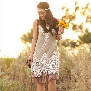Modcloth ruffles and lace dress